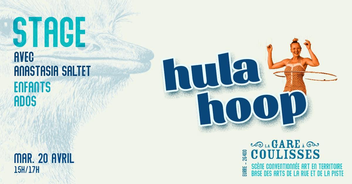 stage de Hula hoop à la Gare à Coulisses