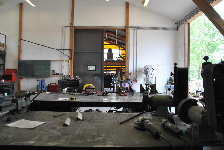 atelier métal la Gare à coulisses